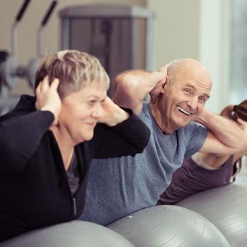 Bleib gesund – werd' aktiv